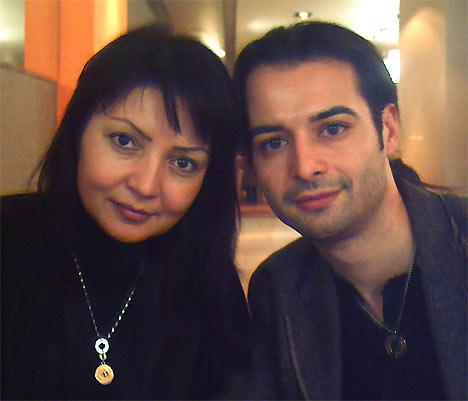 Шахсанам Кылычева и Армин Пюрхудари