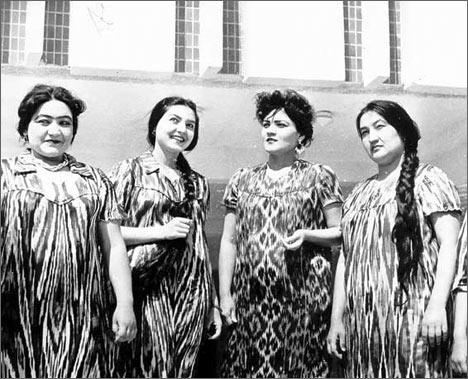 Шахсанам Кылычева в Узбекистане