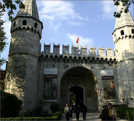 Дворец султанов, Топ-Капы