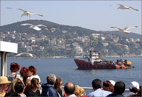 Стамбул. Прогулка на катере по Босфору