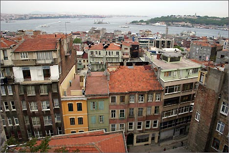 Стамбул. Вид на город и Босфор
