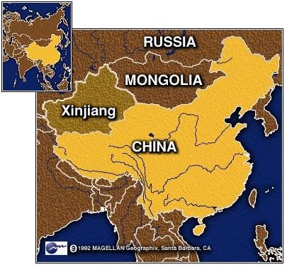 Китай, Синьцзян