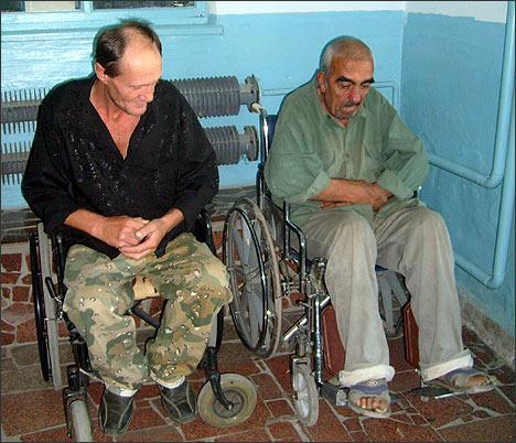 по инвалидности: