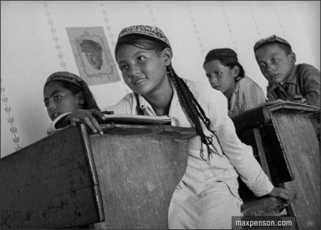В школе. Фото Макса Пенсона