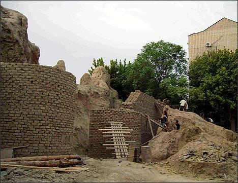 Консервация городища Мингурюк