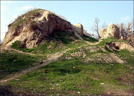 Так городище Мингурюк выглядело в 2006 году