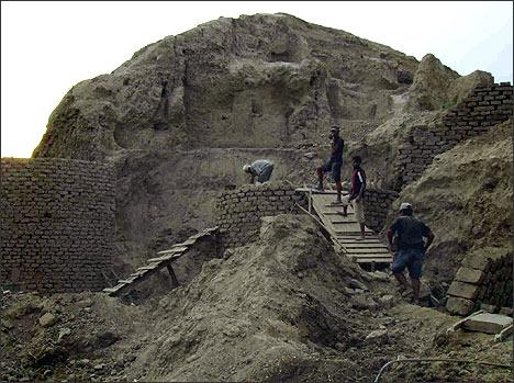 Ancient Settlement of Minguruk in Tashkent