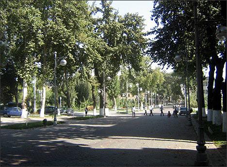 Ташкент, Бродвей-2008 г.