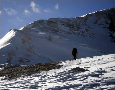 Выше лагеря 4. 6500 метров над уровнем моря