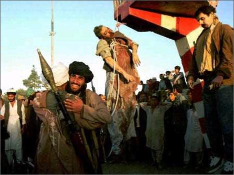 Казнь Наджибуллы. 27 сентября 1996 года, Кабул