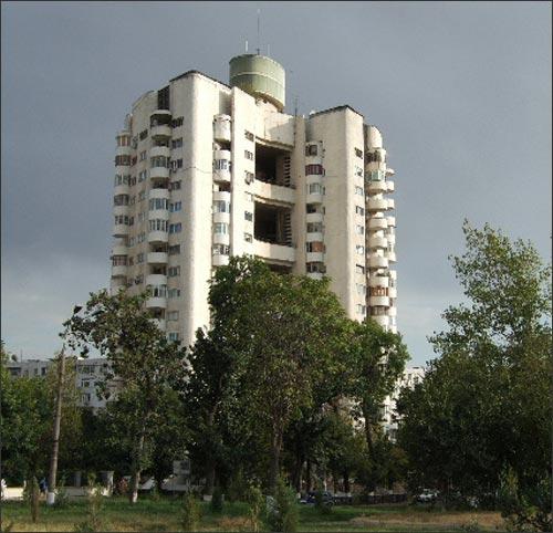 Дом в Ташкенте, в котором живет Керстин