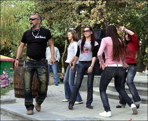 Фестиваль пива в Ташкенте. Алишер Канаев