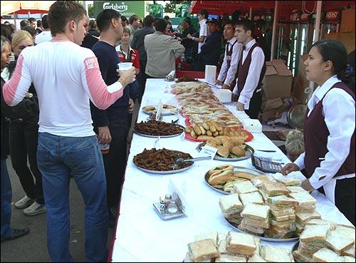Фестиваль пива в Ташкенте. Закуски к пиву