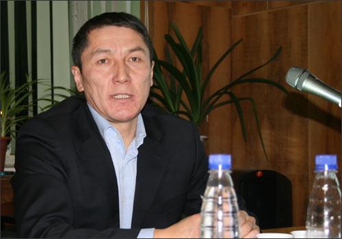KGinfo.ru site editor Asilbek Egemberdiyev