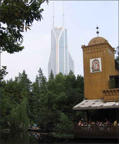 Шанхайский небоскреб