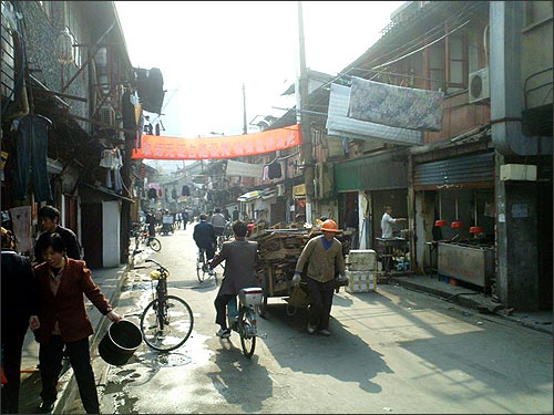Старая шанхайская улица