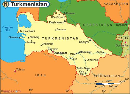 Туркменистан неизвестная борьба с