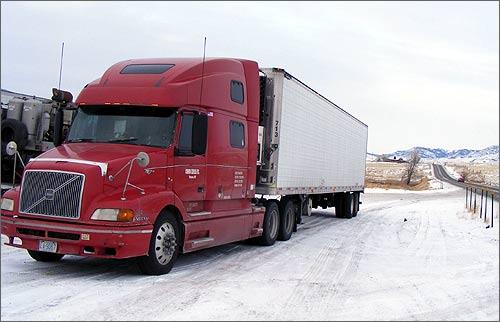 Bakhodir Choriyev's truck