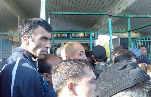 КПП Гишт Куприк перед его закрытием на ремонт