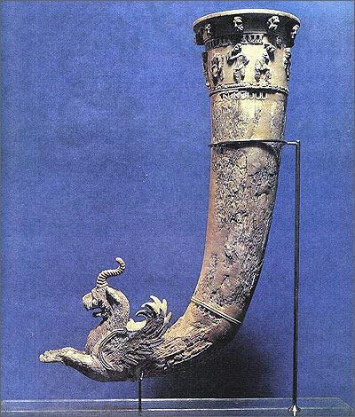 Ритон. I век до нашей эры. Ниса. Средняя Азия