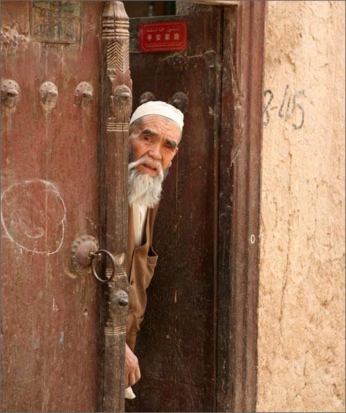 Старик-мусульманин