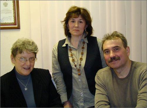 Светлана Ганнушкина и Тетерины
