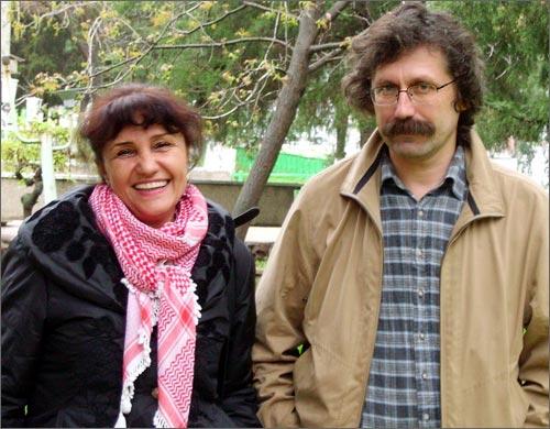 Умида Ахмедова и Олег Карпов