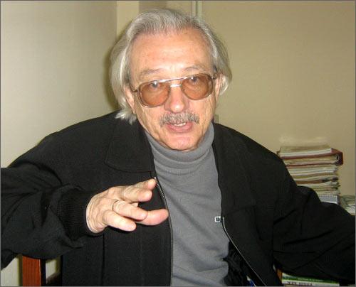 Главный редактор журнала Алексей Устименко