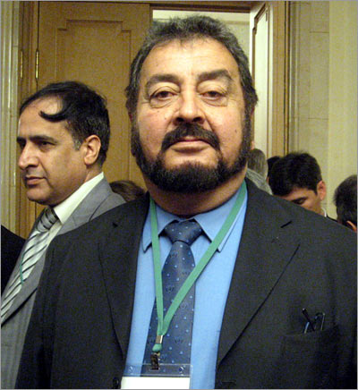 Кандидат в президенты Афганистана принц Абдул Али Серадж