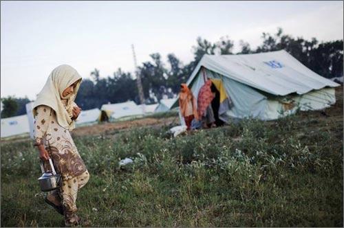 Пакистанские беженцы