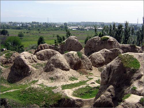 Городище Шаш-тепа