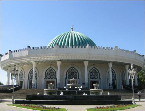 Ташкент. Музей Темуридов
