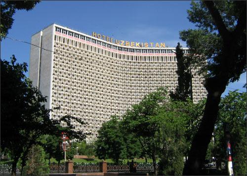 Ташкент. Гостиница «Узбекистан»