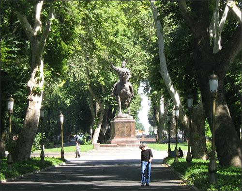 Ташкент. Сквер Амира Темура