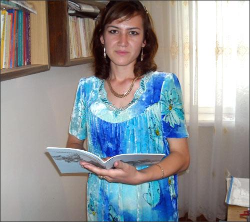 Наргиса Хусейнова хочет стать учительницей