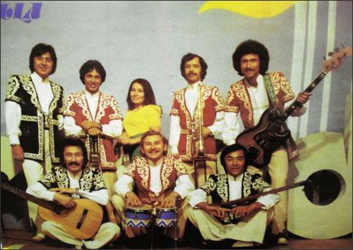 Фото ВИА Ялла из ГДР-овского журнала Melodie and Rhythmus