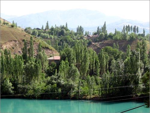 Вид на поселок