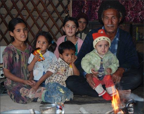 Хаджи – самый богатый житель поселка Дамла