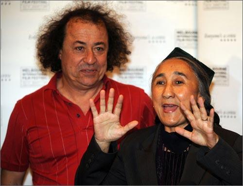 Р.Кадир с Ричардом Муром – директором фестиваля