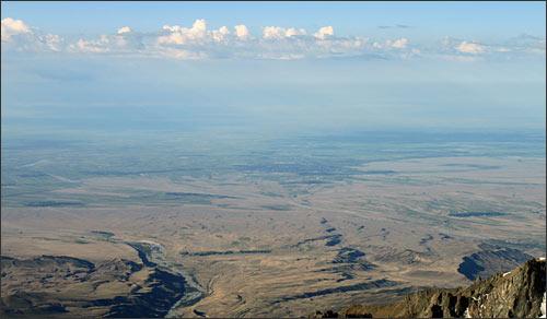Долина реки Или (верховья)