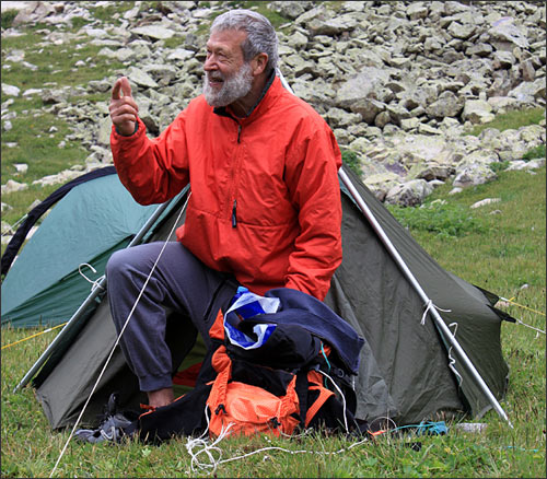 Патриарх английского альпинизма Джон Тэмпл