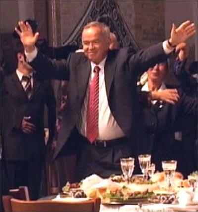 Так Ислам Каримов танцевал в 2006 году
