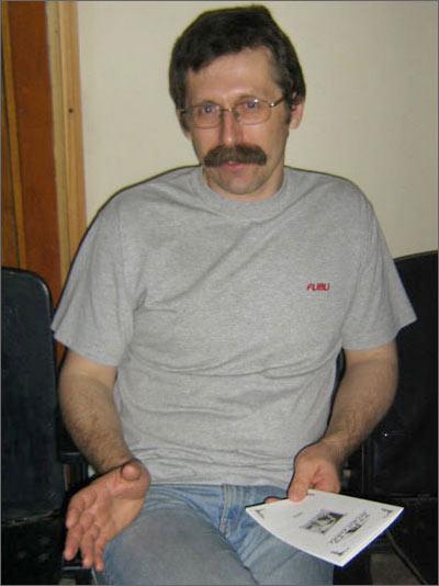Директор Музея кино Олег Карпов