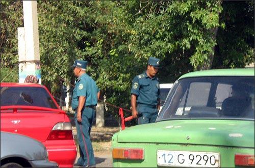 Во время хлопковой страды милиция блокирует города