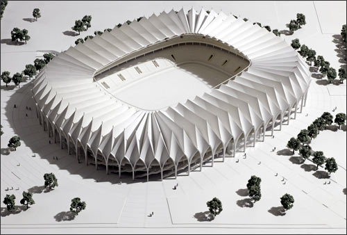 Так выглядит проект будущего стадиона