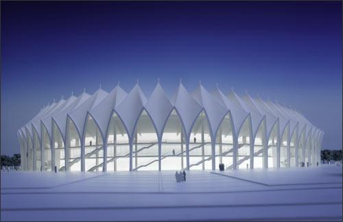 Проект будущего стадиона