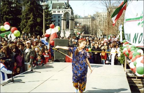 Таджикский праздник в Монреале