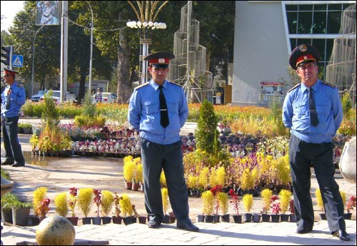 Милиция Душанбе