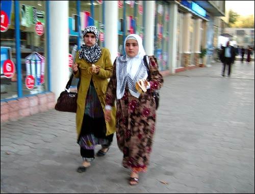 Душанбе. На проспекте Рудаки