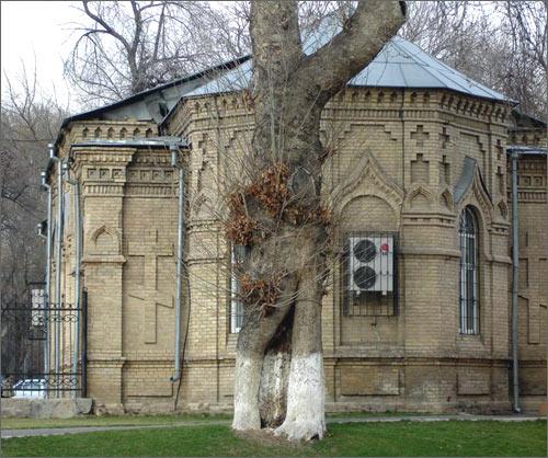 Снесенная церковь Ал.Невского